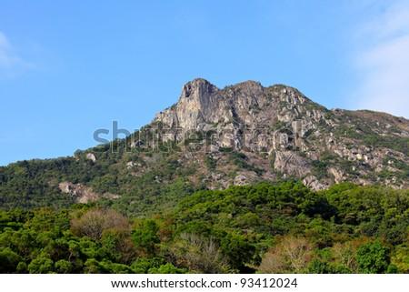 Lion Rock, symbol of Hong Kong spirit