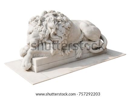 lion statue   the ancient...