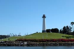 Lions Lighthouse in Shoreline Aquatic Park in Long Beach California