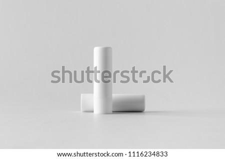 Lip balm packaging mock-up. #1116234833