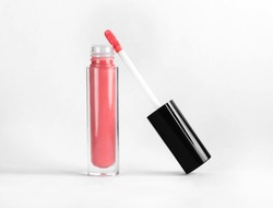 lip gloss in tube open