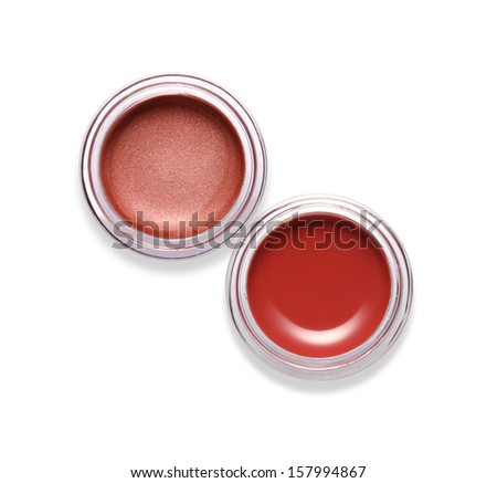 Lip gloss isolated on white  #157994867