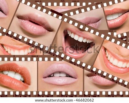 lip on negative film