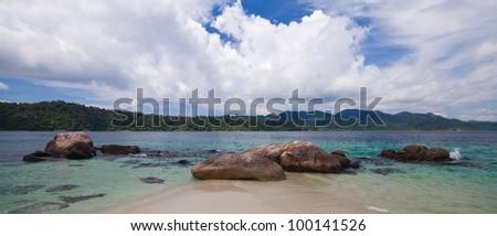 Lipe island in Thailand