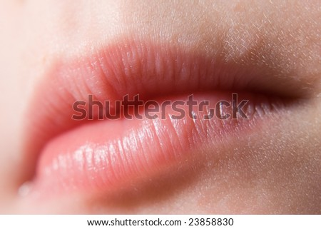 lips closeup