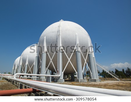 Liquefied Petroleum Gas tanks #309578054