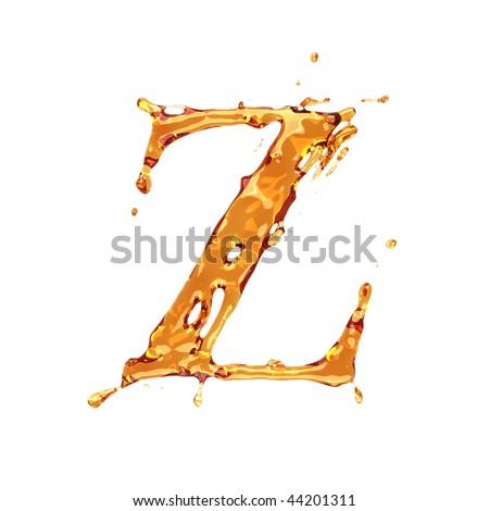 z alphabet. alphabet - letter Z