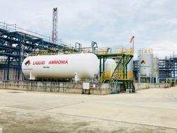 Liquid ammonia storage Used in food production.