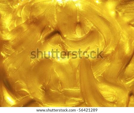 Liquid golden texture