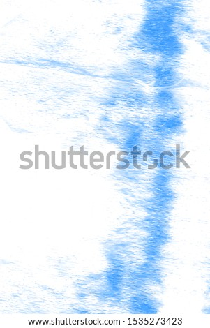 Liquid Inks. Watercolour Wash. Shibori Texture. Vintage Abstract Adornment. Acrylic Dirty Art. Rustic Textured Illustration. Azure, White Liquid Inks.