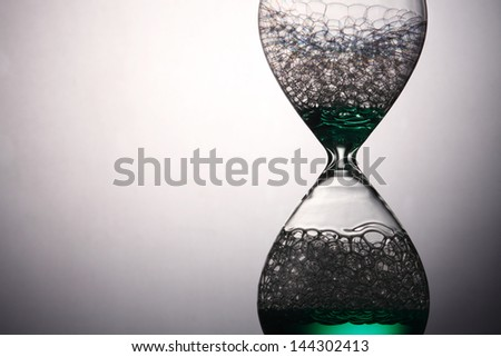 liquid type of the hour glass