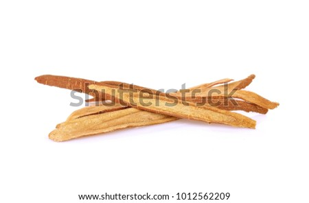 Liquorice root, used in chinese herbal medicine