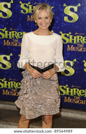 "Lisa Maxwell arrives for the 1st night party of ""Shrek The Musical"" at Somerset House, London. 14/06/2011  Picture by: Steve Vas / Featureflash"