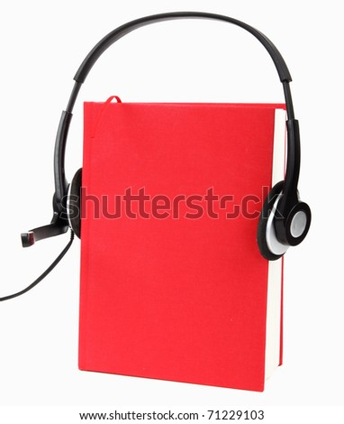 Listening to Audio Books ( Audio-book Concept )