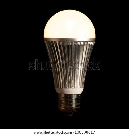 Lit LED Light Bulb