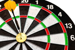 Litecoin is an interesting coin among altcoins  in the center of darts. Right on target.