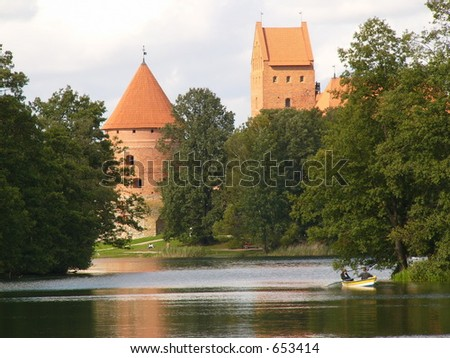 Lithuania Trakai castle, Europe