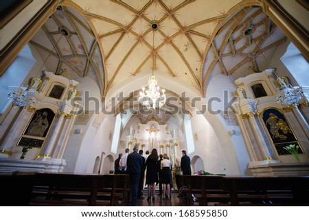 Lithuanian church interior