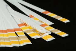 Litmus strips for measurement of acidity