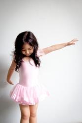 Little Asian ballerina