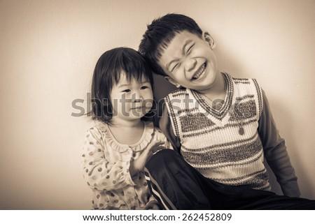 little asian  thai  children...