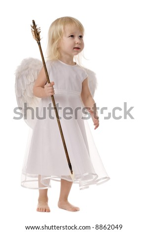 Little Girl as Angels