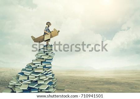 little aviator on 3d books