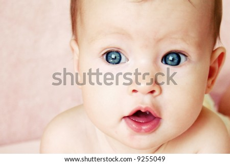 baby girl. stock photo : Little Baby Girl