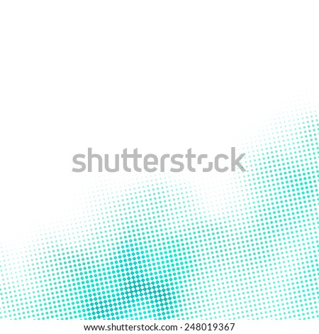 little blue dots and diamonds pattern, subtle raster, white background