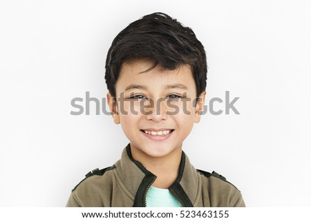 Little Boy Kid Adorable Cute Portrait