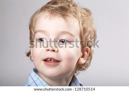 little boy portrait