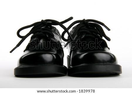 little boy's dress shoes