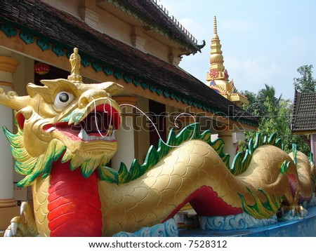 Little Buddha , against long Dragon
