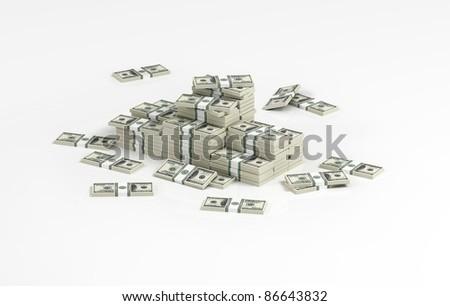 Little bunch of dollars