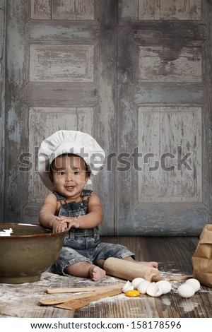 Little Chef.  Room for your text!