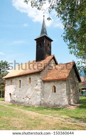 little church in landskron in...