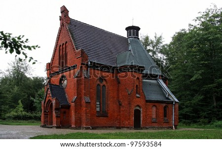Little Church in the Forest near Heiligendamm (Mecklenburg, Germany)