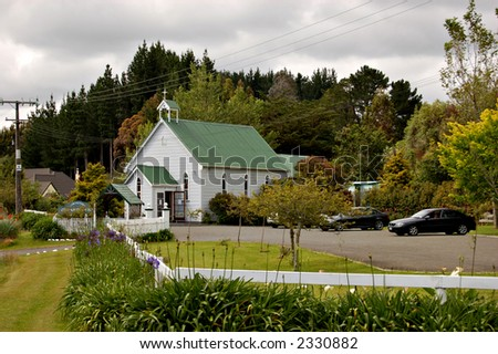 Little country church-Aokautere,New Zealand