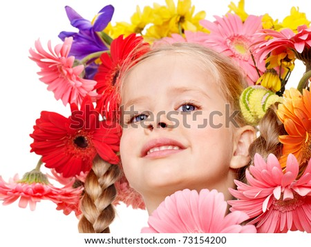 girly girl hairstyles. flower girl hairstyle