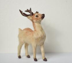Little Deer Toy Model on the Table , Bangkok , Thailand