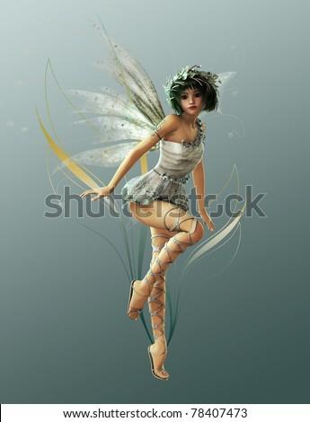 stock photo : Little Fairy 1