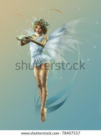 stock photo : Little Fairy 2