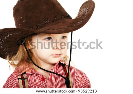 little funny cowgirl