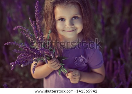 Little girl bouquet