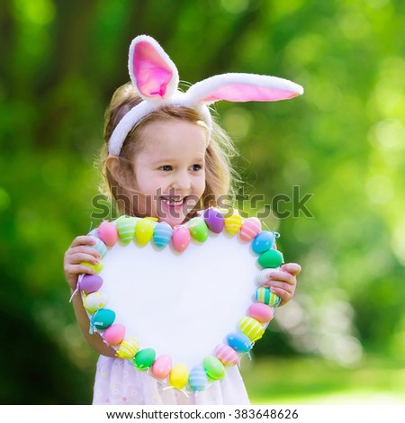 Royalty Free Little Girl Having Fun On Easter Egg 370227695 Stock
