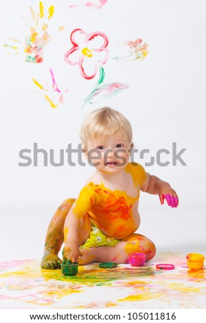 Baby Picture Studios on On The Walls And Floor In Studio Stock Photo 105011816   Shutterstock
