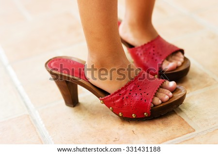 little girl heels images