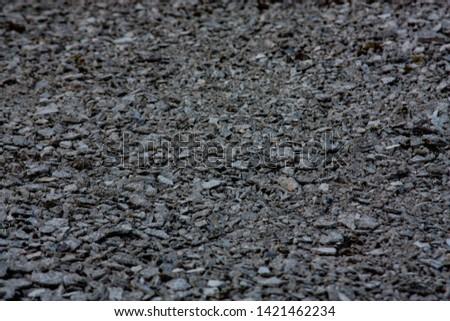 little grey rocks on the grey background #1421462234