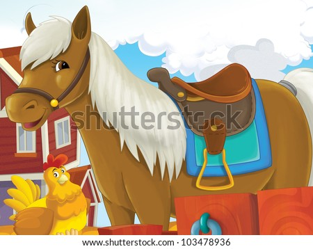 Little happy pony