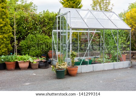 Little home purpose greenhouse